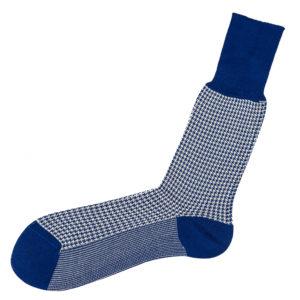 viccel socks houndstooth midcalf cotton luxury socks