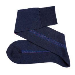 Viccel Socks Easycare Navy Blue Merino Wool socks