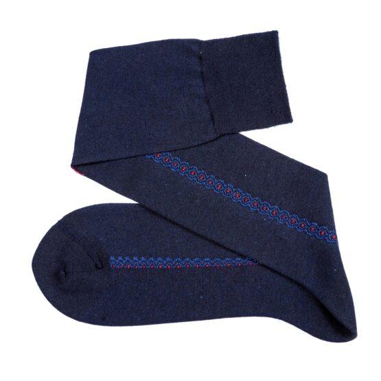 Viccel Socks Easycare Navy Blue Merino Wool socks