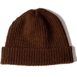 Viccel Brown Merino wool hat