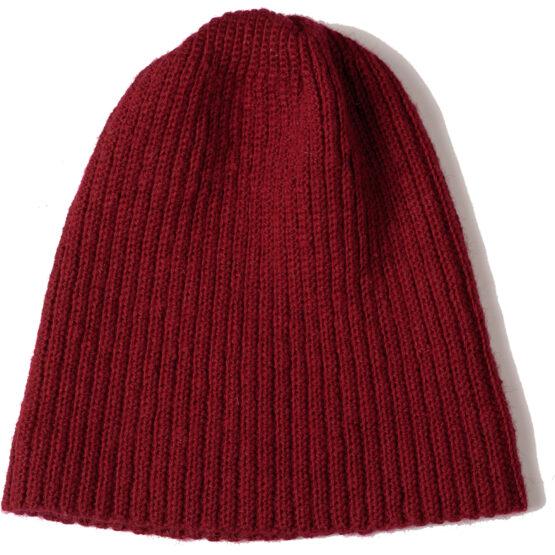 Viccel Red Merino wool hat