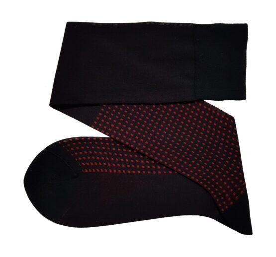Viccel black cotton socks