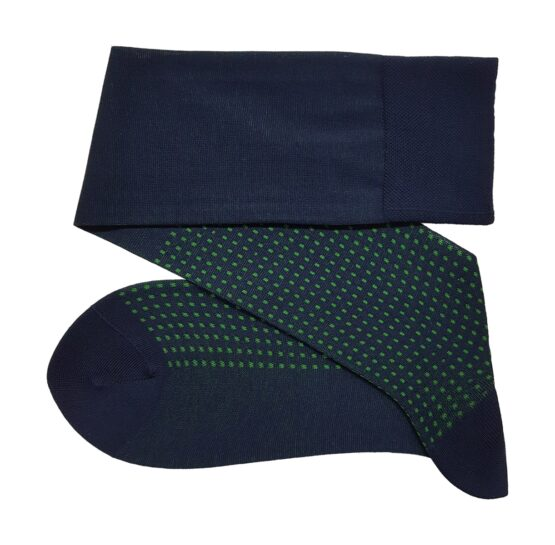 Viccel Navy blue cotton socks