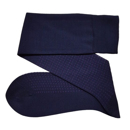 Viccel Navy blue cotton socks