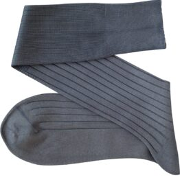 Viccel Gray Over the calf socks Over the knee cotton luxury socks buy socks