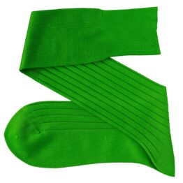 Viccel Pistacio Green Blue Over the calf socks Over the knee cotton luxury socks buy socks