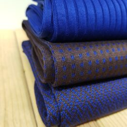 viccel brown royal blue cotton socks