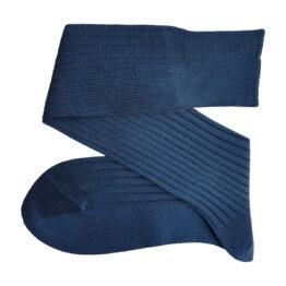 Viccel Light Navy Blue Cotton Socks