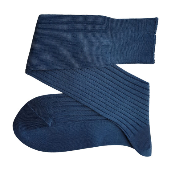 Viccel Light Navy Blue Cotton Socks