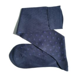 Viccel Navy Bljue Cotton socks