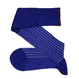 viccel royal blue white shadow socks