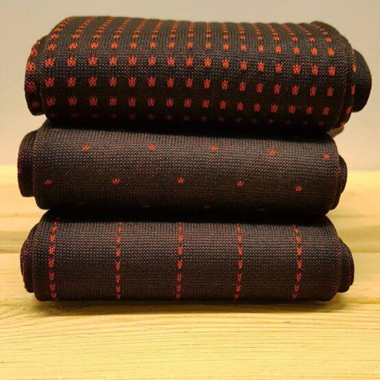 dark brown cotton socks
