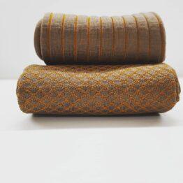 viccel Socks marmatto mustard fishnet