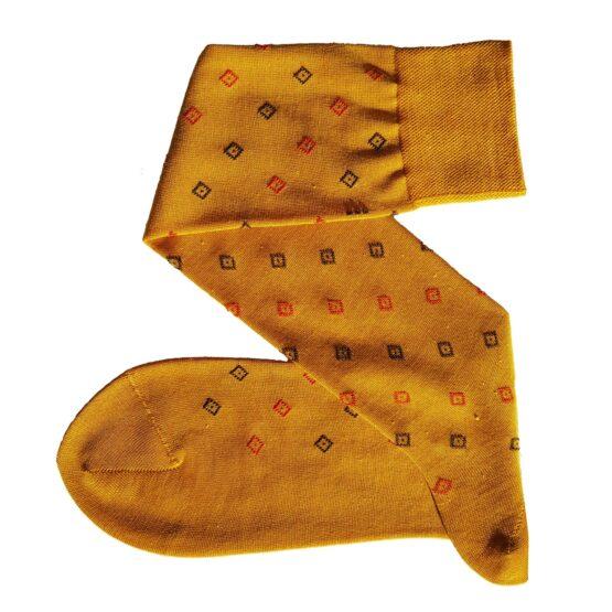 viccel Mustard merino wool socks