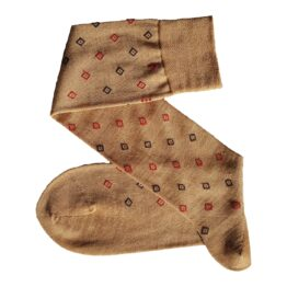 viccel Beige merino wool socks