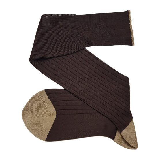 Viccel Cotton Brown Socks