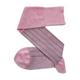 viccel pink dress cotton socks