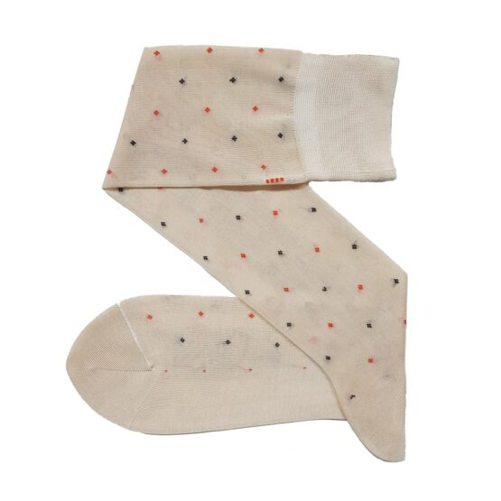 Viccel ecru cotton socks