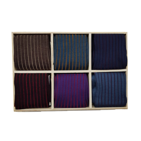 viccel shadow striped cotton socks